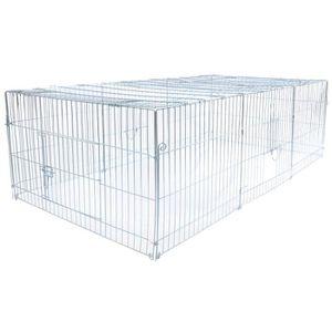 ENCLOS - CHENIL Parc enclos pliable pour chien-lapin, Volière-clôt