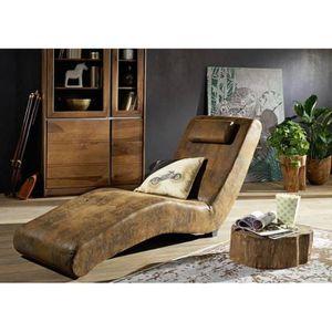 chaise de bureau chaise longue fauteuil confort inspiration vinta - Fauteuil Chaise Longue