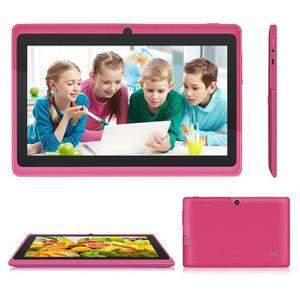 TABLETTE ENFANT Rose 7'' tablette tactile Q88 Android cadeau pour