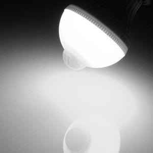 AMPOULE - LED E27 5W 18 LED Ampoule Globe PIR Motion Sensor Déte
