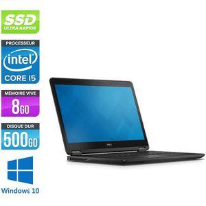 ORDINATEUR PORTABLE Pc portable Dell E7450 - i5 - 8Go - 500Go SSD - Wi