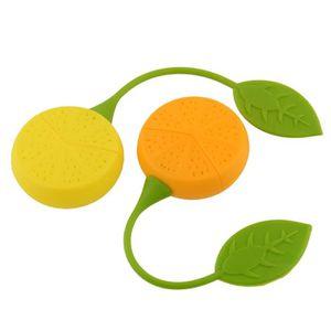 INFUSEUR - BOULE À THÉ Passoire à Thé en Silicone de Thé Citron 100% Sili