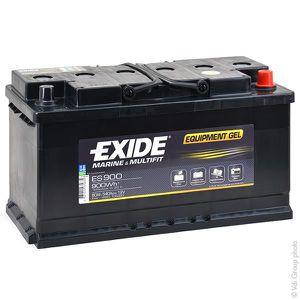 BATTERIE VÉHICULE Batterie plomb etanche gel ES900 12V 80Ah 540A