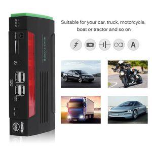 BATTERIE VÉHICULE batterie de démarrage Starter voiture 50800mAh4U -