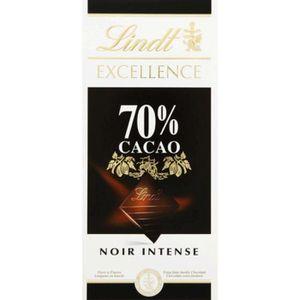 CHOCOLAT NOIR LINDT Excellence Chocolat noir 70% cacao