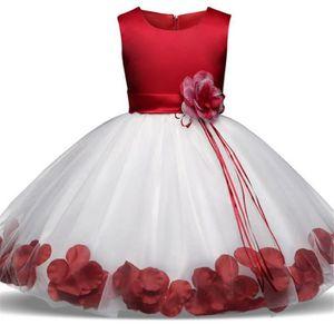 0a33a616b82ae ROBE DE CÉRÉMONIE WAIWAIZUI Petite Fille Robe de Baptême bébé Floral