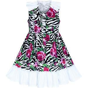 Vetements Sunny Fashion Robe Fille Rouge Ceinture Fleur Jarretelle Jupe Uniforme Scolaire 5 12 Ans Fille Sou L Jp