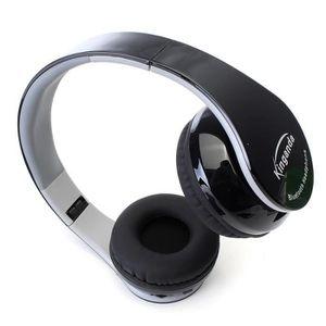 CASQUE - ÉCOUTEURS NEUFU Bluetooth casque stéréo sans fil avec avec u