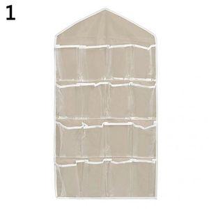 PANNEAU DE RANGEMENT Porte-manteau 16 poches porte Tenture murale Suppo
