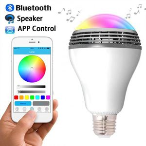 ENCEINTE NOMADE Smart LED ampoule lumière sans fil Bluetooth haut-