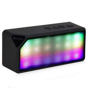 ENCEINTE NOMADE Mini sans fil coloré LED Lumières Pulse Bluetooth
