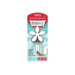 BONDE - CABOCHON Filtre attrape cheveux DrainWig x 2