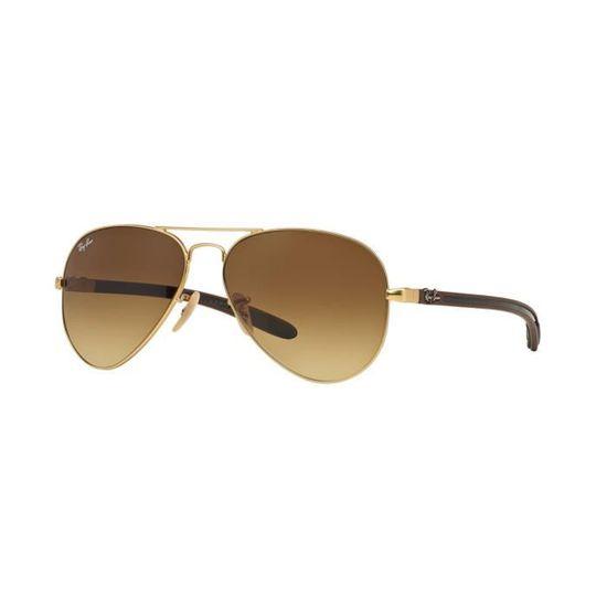 Lunettes de soleil Ray Ban Aviator Carbon Fibre RB8307 112-85 Taille  58 -  Achat   Vente lunettes de soleil - Cdiscount 6f3ac4522508