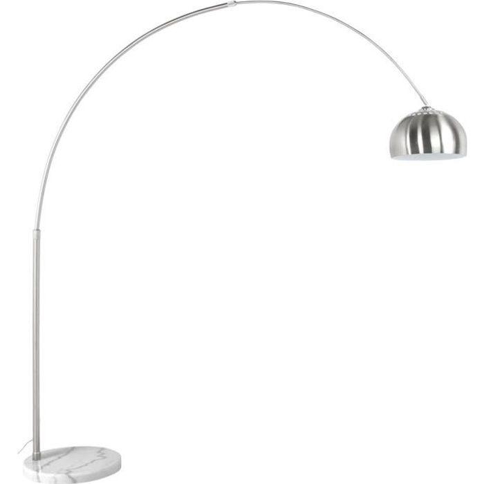 lampadaire design en arc 39 xxl 39 acier bross ret achat vente lampadaire design en arc 39 x. Black Bedroom Furniture Sets. Home Design Ideas
