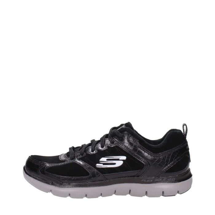 many fashionable get new many fashionable Skechers Sneakers Femme Noir