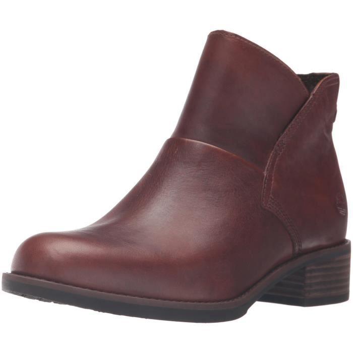 Timberland Chaussures à fermeture éclair X5LZ5 Marron