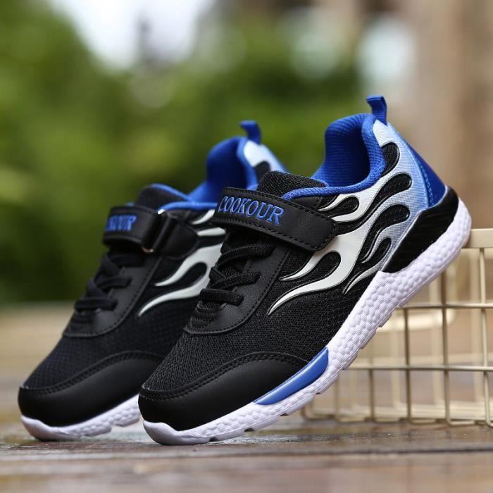 2017 automne nouvelles chaussures de sport pour enfants grand garçon mailles chaussures garçons chaussures de course