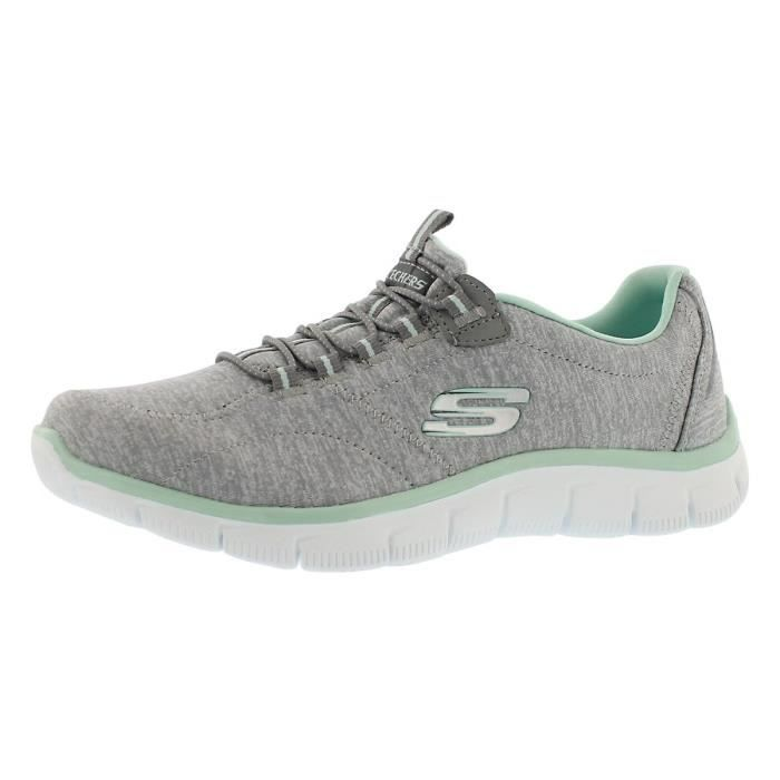 c949b49ff88b0e SLIP-ON Skechers Empire Sport - Rock Around Relaxed Fit Sn. Smooth woven  mesh fabric upper; smooth faux ...