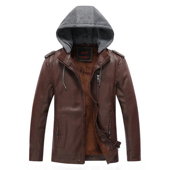 Meilleur marque veste en cuir