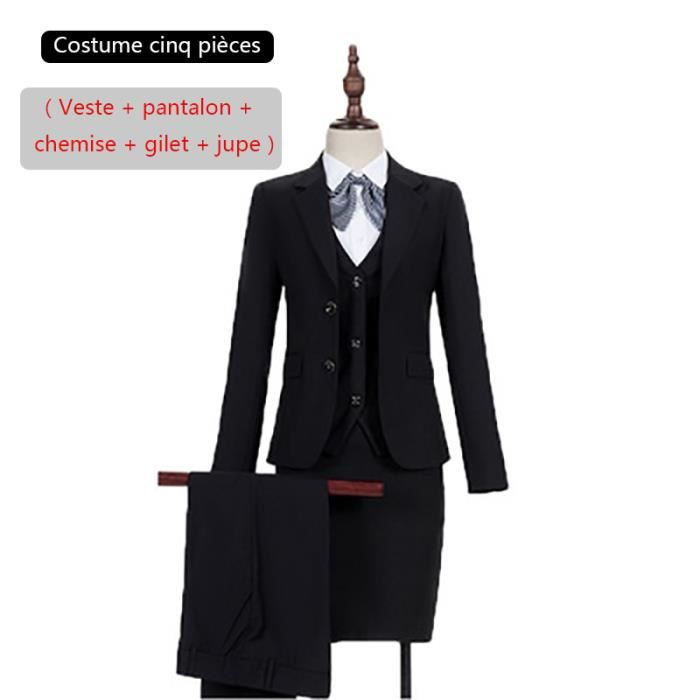Travail Costume Dame Femme De Marquecostume Vêtements P4rX46x