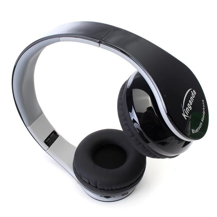 Neufu Bluetooth Casque Stéréo Sans Fil Avec Avec Un Micro Récepteur
