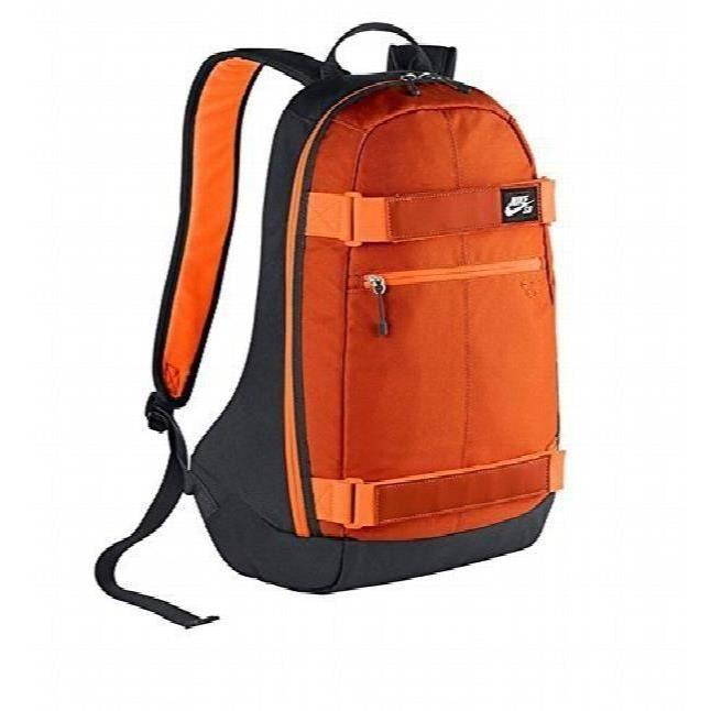 cc9de1e950 caliroots embarca medium backpack nike sb; nike sb embarca sac à dos orange  noir chjrx