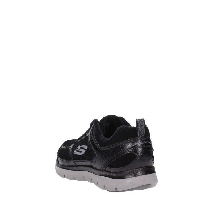 Skechers Sneakers Femme Noir Noir