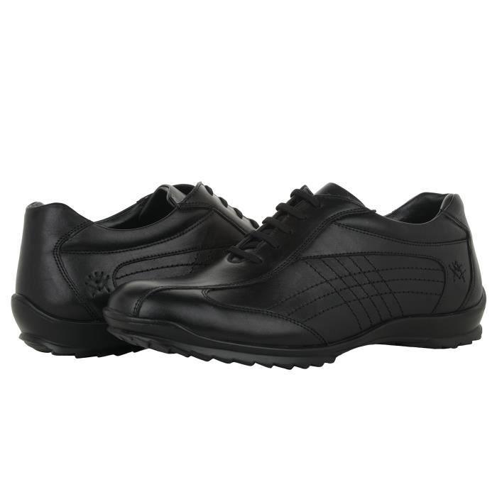 Cuir à la main Walking Chaussures Casual QXS87 47