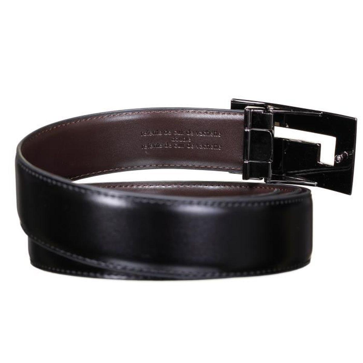 Ceinture Rochas CRO 19 Reversible Noir Marron - Achat   Vente ceinture et  boucle 3700800002651 - Cdiscount 648f2074dab