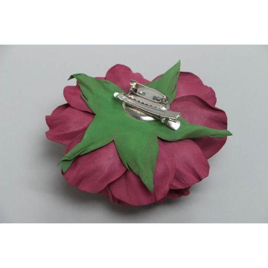 Broche fleur rose bordeaux grande belle originale - Achat   Vente lunettes  de vue Broche fleur rose bordeaux - Cdiscoun 8f0aedd3a80