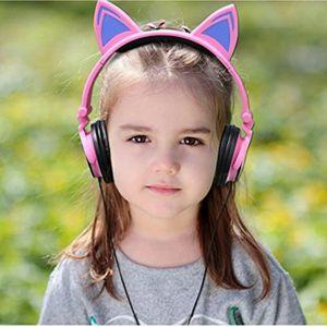 CASQUE AUDIO ENFANT Pliable Casque Filaire avec Microphone Intégré pou
