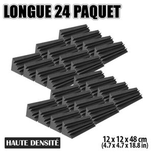 PANNEAU ABSORBANT Hobby Express 24 pièces 12 x 12 x 48 cm (4,7 x 4,7