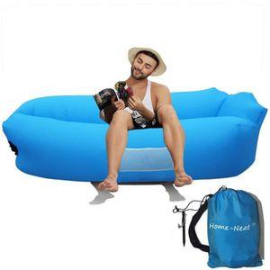 SALON DE JARDIN  Home-Neat Hamac Gonflable canapé avec oreiller int