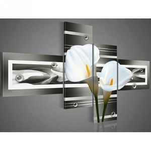 Tableaux peinture sur toile fleur achat vente tableaux peinture sur toile - Toile peinture pas cher ...