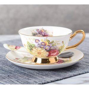 Lot de 6 Tasses Café Thé Boisson Tasse Cuisine Cadeau Céramique Chocolat chaud NEUF