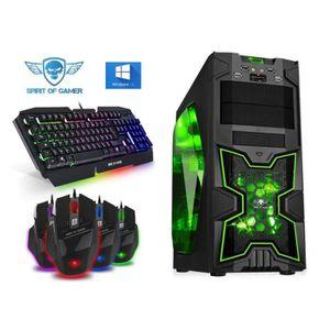 ORDINATEUR TOUT-EN-UN PC Gamer X-FIGHTERS Blue - A4-6300 - 8GO RAM - HDD