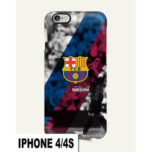 coque iphone 4 barca achat vente pas cher. Black Bedroom Furniture Sets. Home Design Ideas
