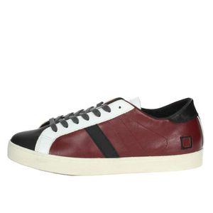 Homme Bordeaux a D 41 e t Sneakers Petite wnpxWFq6C