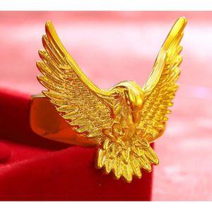 BAGUE - ANNEAU Bague pour homme en or jaune 24 carats, vintage et
