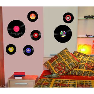 STICKERS PLAGE Sticker déco ARDOISE - Vinyles 1 Planche 46x