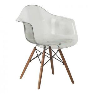 chaise accoudoir transparente achat vente pas cher. Black Bedroom Furniture Sets. Home Design Ideas