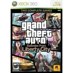 JEUX XBOX 360 GTA: Episodes from Liberty City