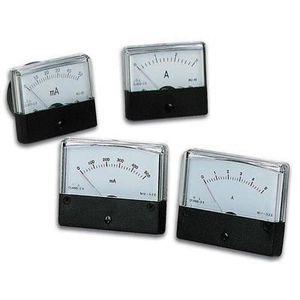 MULTIMÈTRE Amperemetre analogique de tableau 5a cc 70 x 60mm