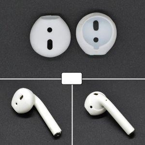 ANTI-POUSSIÈRE Anti poussière 2 PCS sans fil écouteurs en silicon