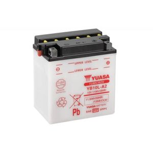 BATTERIE VÉHICULE Batterie YUASA YB10L-A2 conventionnelle