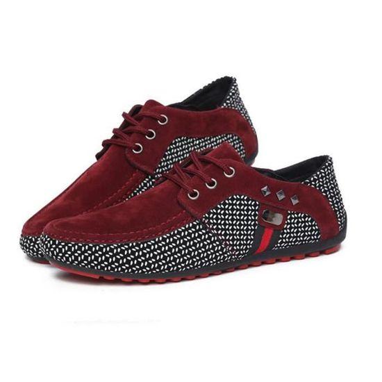 Ete Qualité Chaussures Homme Moccasins Confortable Supérieure Grande Hommes Mode Moccasin Casual Taille Respirant Nouvelle qRw1FIvx