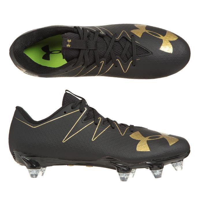 UNDER ARMOUR Chaussures de football Nitro Low D - Noir