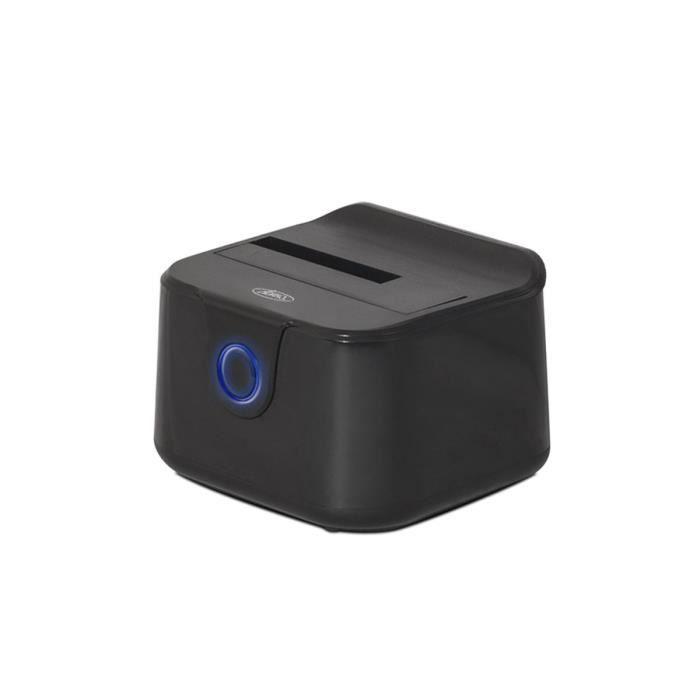 Advance Station d'accueil Single Dock - Pour disque dur - HDD - USB 3.0 - Noir