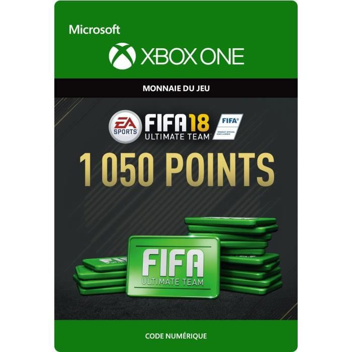 FIFA 18 Ultimate Team: 1050 Points pour Xbox One