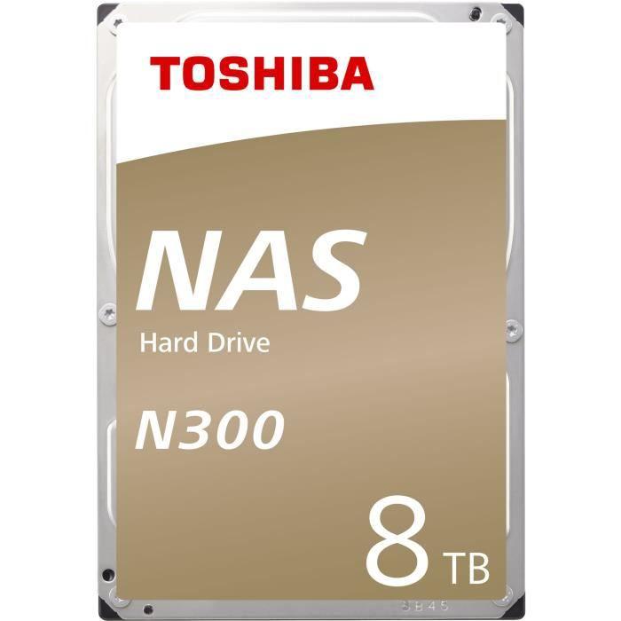 Toshiba Disque Dur interne NAS N300 3,5'' Boite Retail - 8To